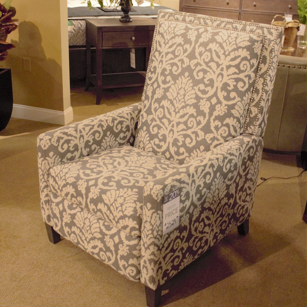 Bassett Davidson Fabric Power Recliner
