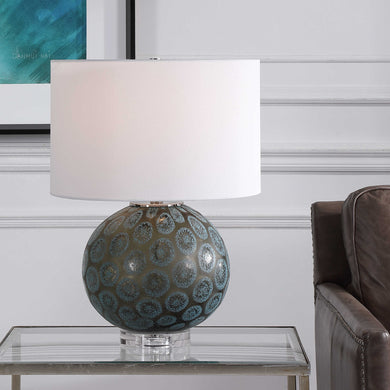 Uttermost Agate Slice Table Lamp