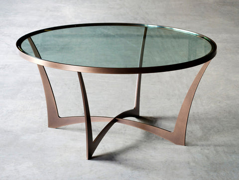 Charleston Forge Lotus Round Cocktail Table