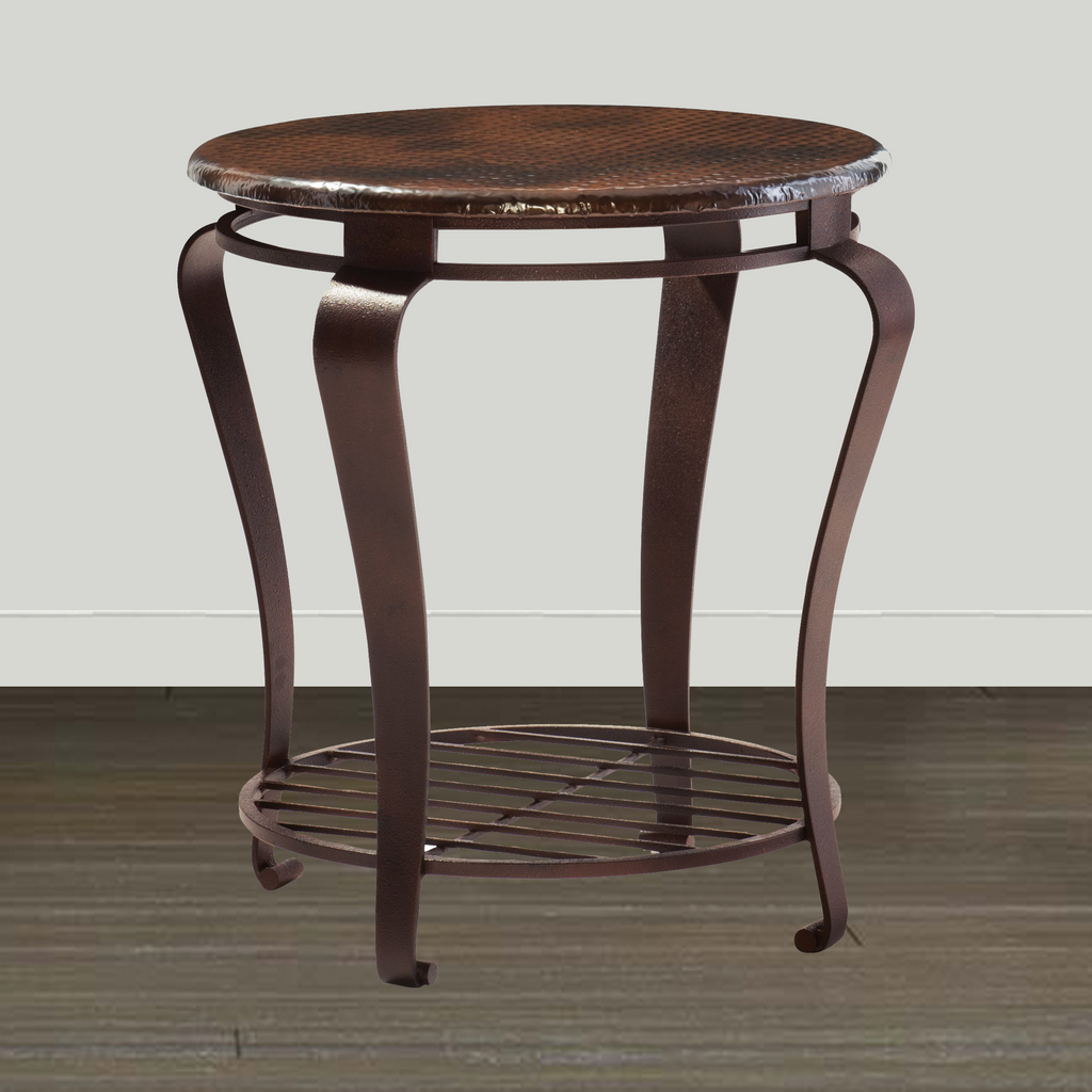 Bernhardt End/Lamp Table Bernhardt Clark Round End Table