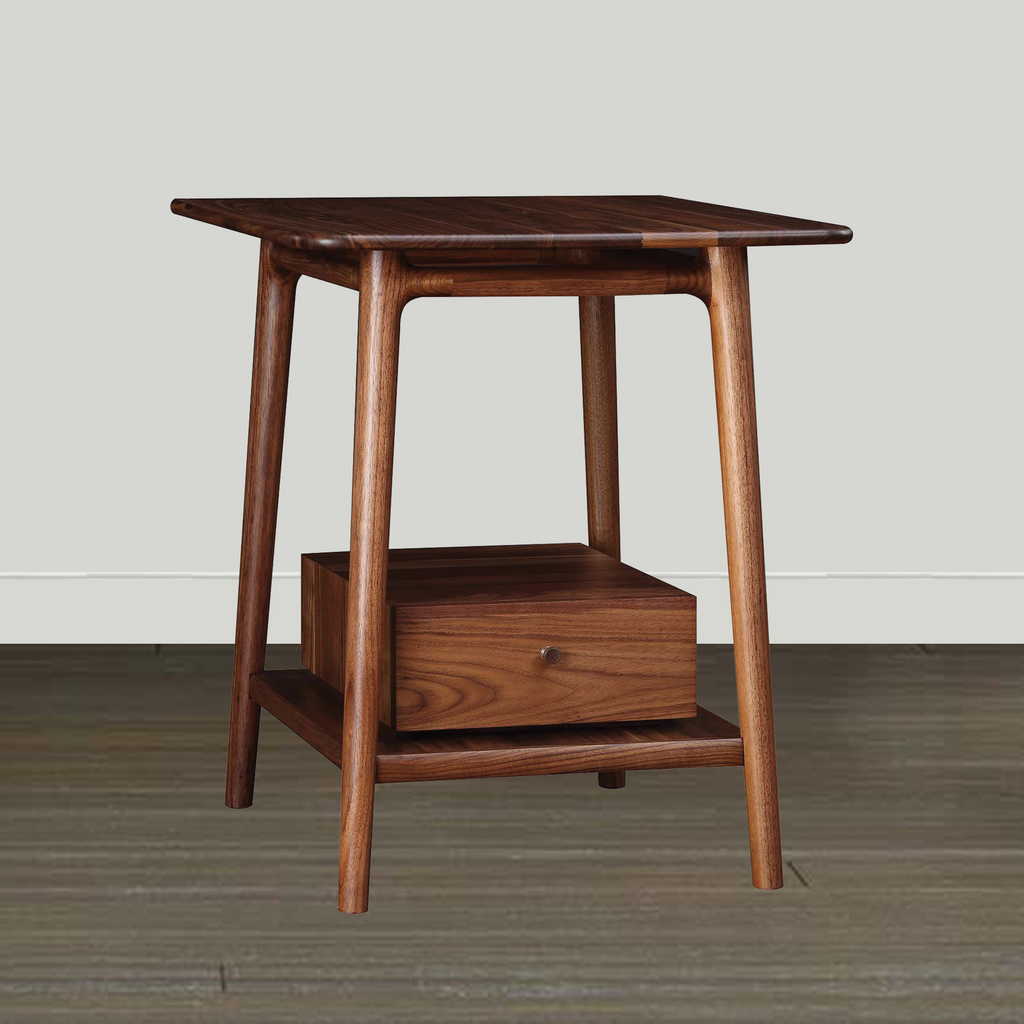 Stickley Walnut Grove End Table