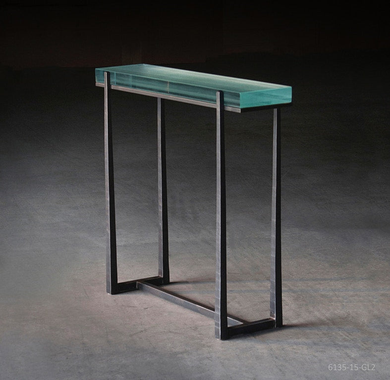 Charleston Forge Cooper Fusion Glass Console
