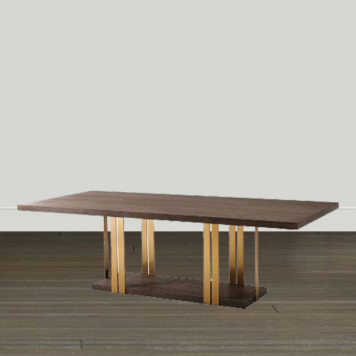 Theodore Alexander Dining Room Table Theodore Alexander TA Studio No.1 Tamar Dining Table with Six (6) Chairs