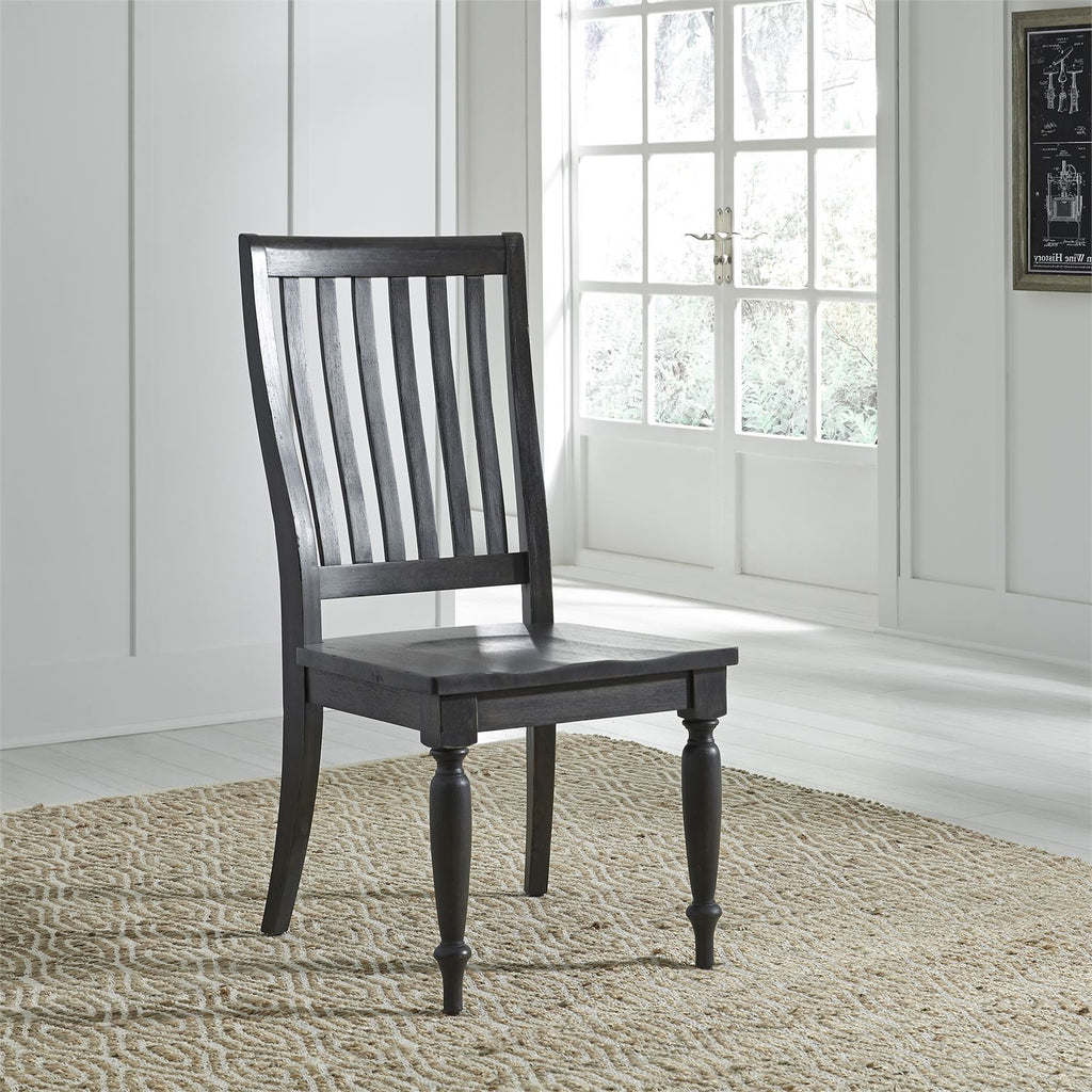 Liberty Furniture Dining Room Chair Liberty Furniture Harvest Home Slat Back Side Chair