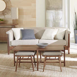 Stickley Walnut Grove Footstool