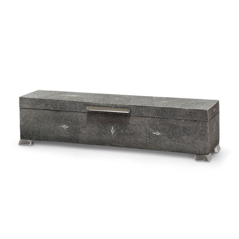 Palecek Decorative Box Drake Shagreen Box 390231
