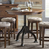 Liberty Furniture Arlington House Round Gathering Table with Four Stools