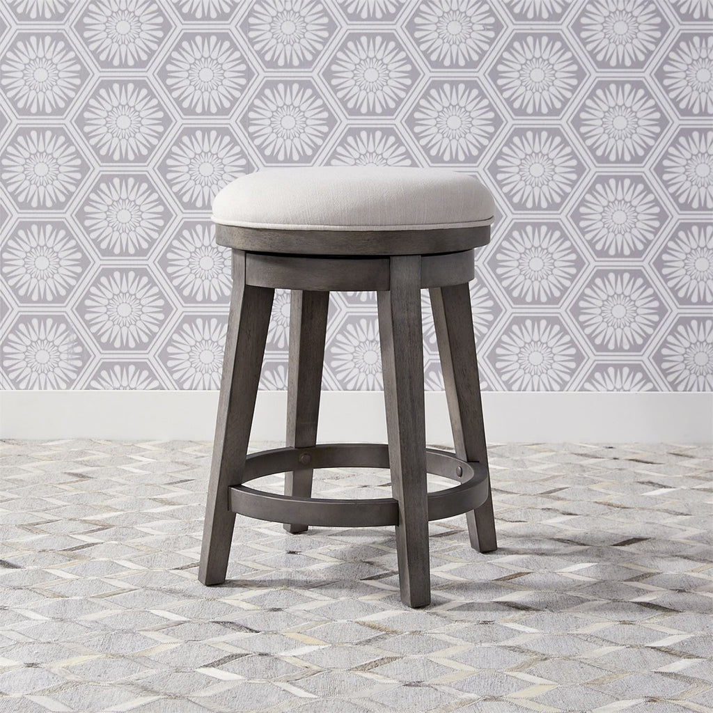 Liberty Farmhouse Console Swivel Stool