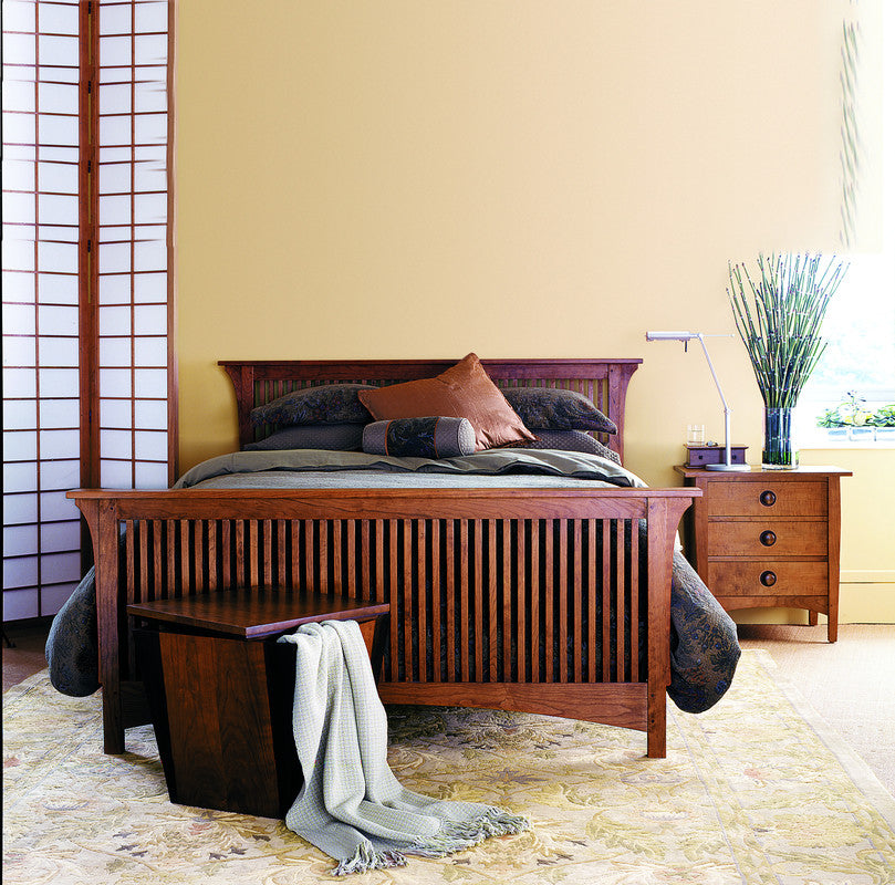 Stickley Bed Stickley Complete King Spindle Bed