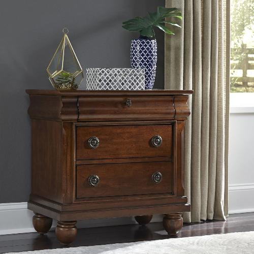 Liberty Furniture Bedroom Nightstand Liberty Furniture Rustic Traditions Nightstand
