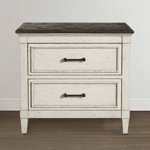 Bassett Bella Stone Top Nightstand