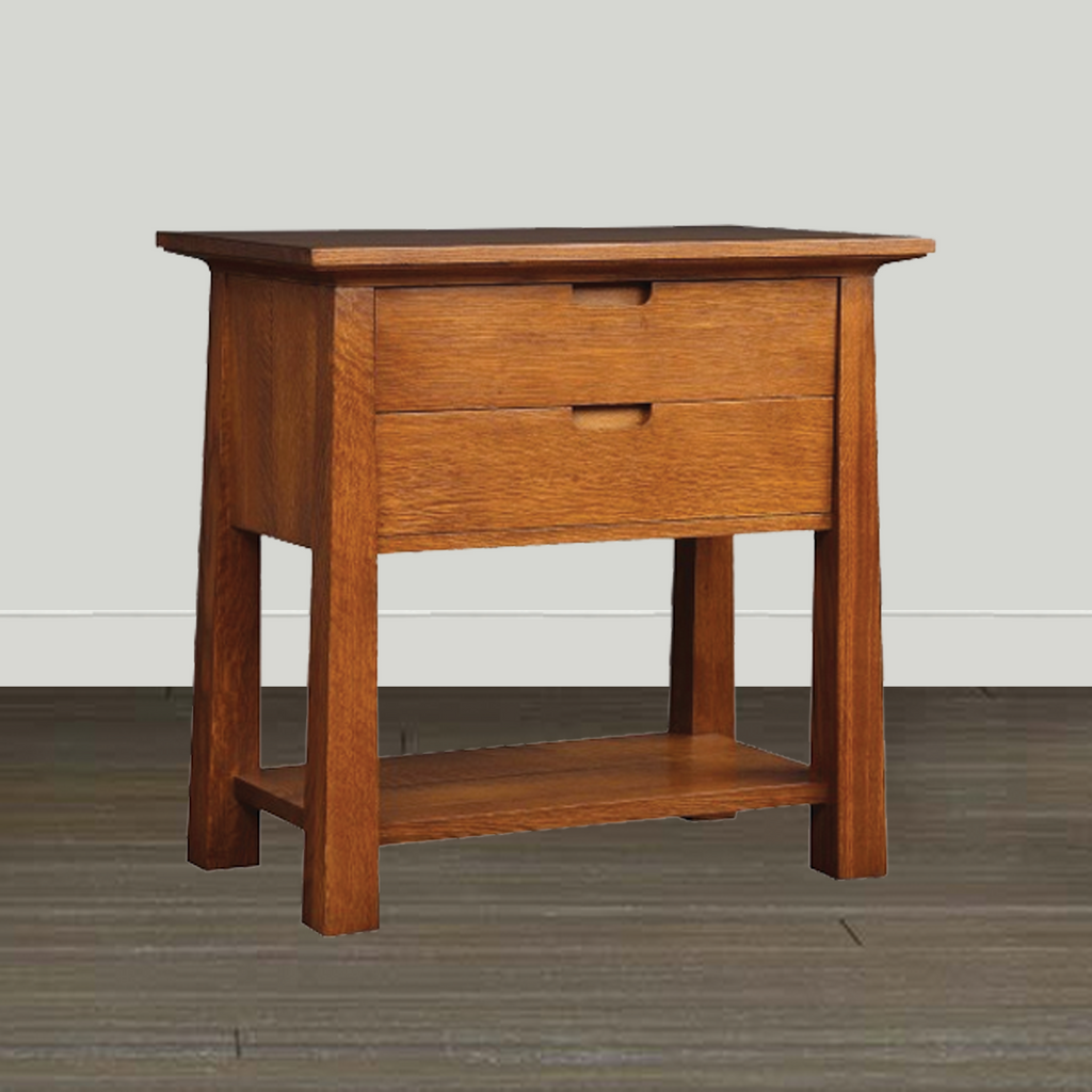 Stickley Park Slope Open Nightstand