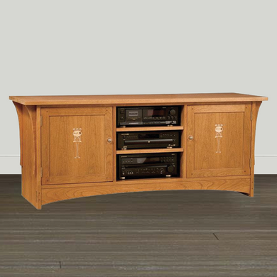 Stickley Entertainment Wall Unit Stickley Harvey Ellis TV Console