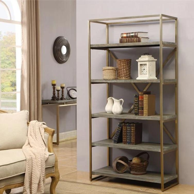 Treasures Bakers Rack/Etagere Wall Unit Treasures Gold Accent Etagere