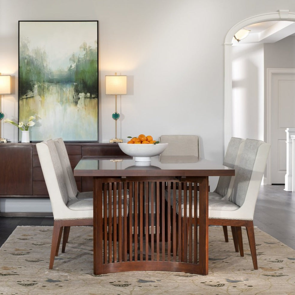 Stickley Dining Room Table/Chairs Stickley Park Slope Dining Table