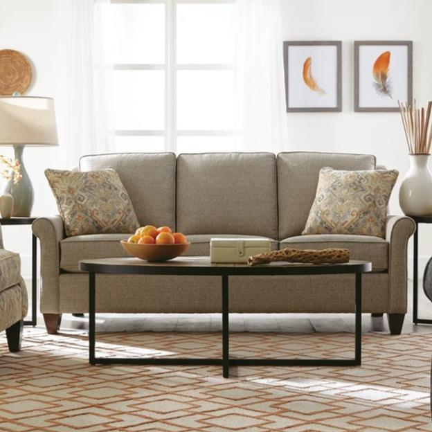 Cozy Life Fabric Sofa Cozy Life 79in QuickShip O'Connor Standard/Queen Sleeper Sofa