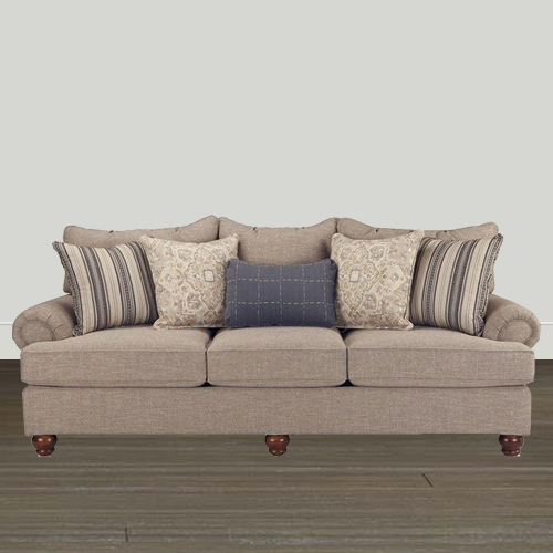 Cozy Life Fabric Sofa Cozy Life Essentials 100in Quick Ship Sofa