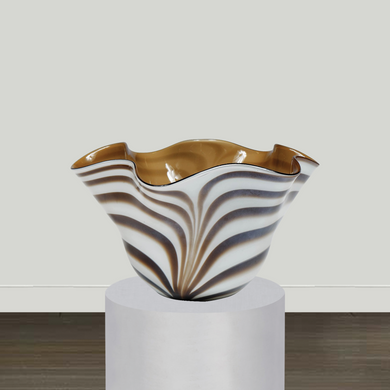 Bradburn Gallery Accessory Bradburn Gallery Scalloped Wave Decorative Bowl
