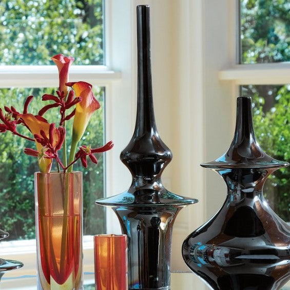 Davids Furniture & Interiors  Global Views Minaret Vase