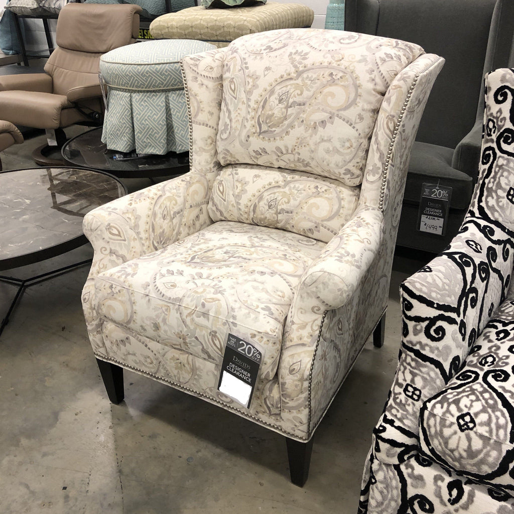 Sherrill Upholstered Wing Chair