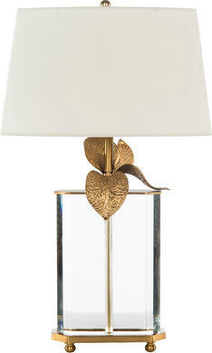 Bradburn Gallery Cybidium Brass Table Lamp