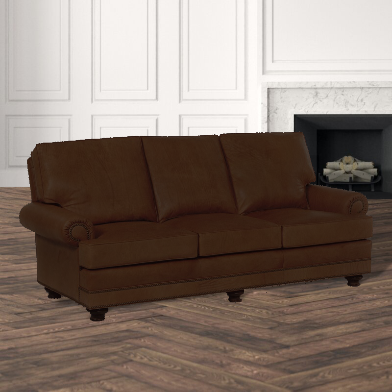 Leathercraft 2560 Garland QS Frame Sofa