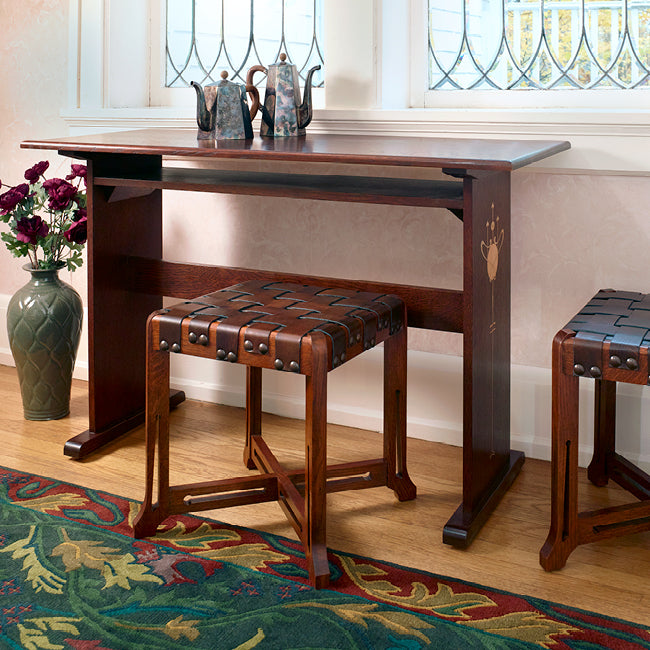 Stickley 2021 Collector Edition Harvey Ellis Console Desk