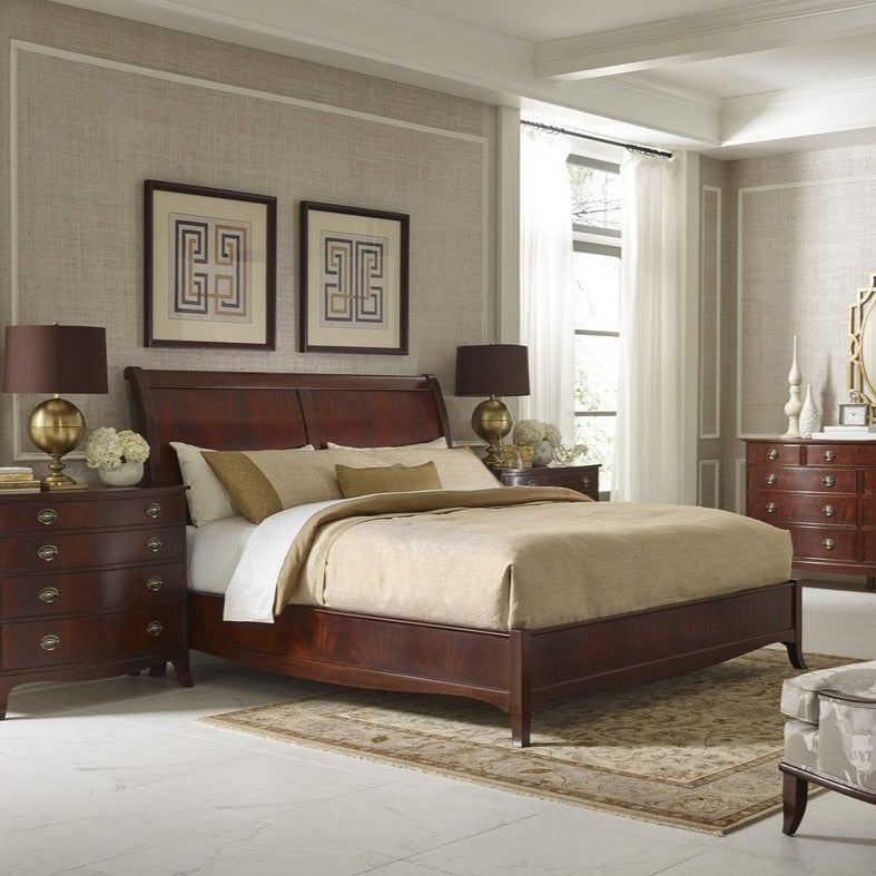 Stickley Whitehall King Sleigh Bed