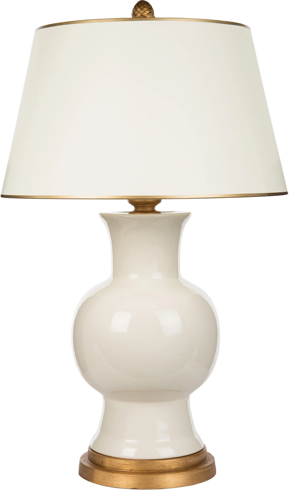Bradburn Gallery Juliette White Table Lamp