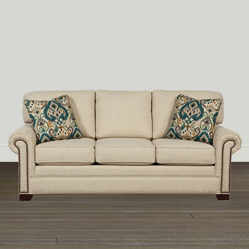 Cozy Life 86in Paige/Bahama QuickShip Sleeper Sofa