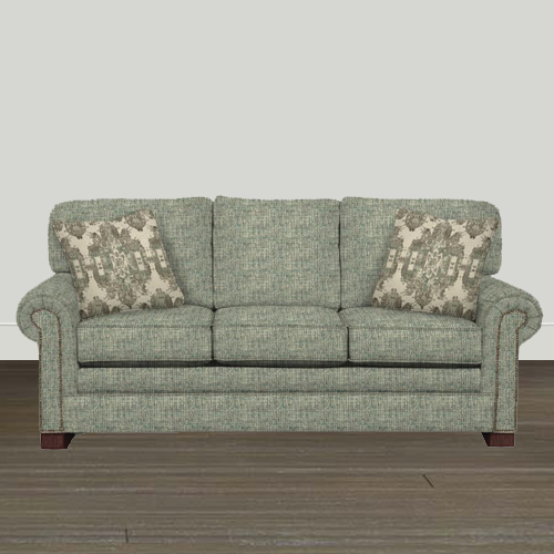 Cozy Life 86in Paige/Bahama Quick Ship Sofa