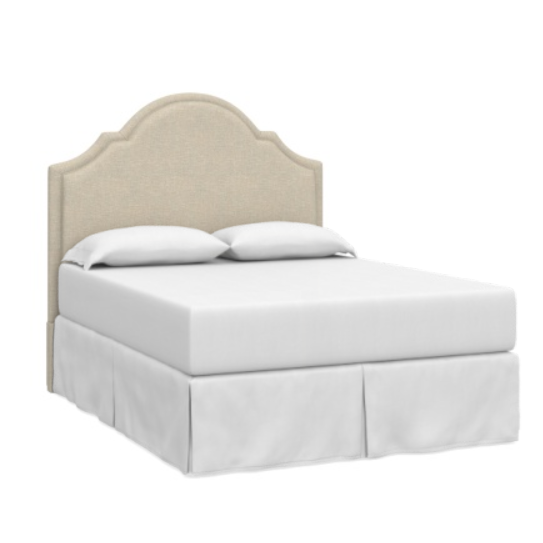 Bassett Bed Bassett Custom Upholstered Barcelona Bonnet Queen Headboard