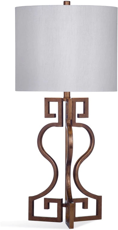Bassett Mirror Co. Taryn Gold Leaf Table Lamp