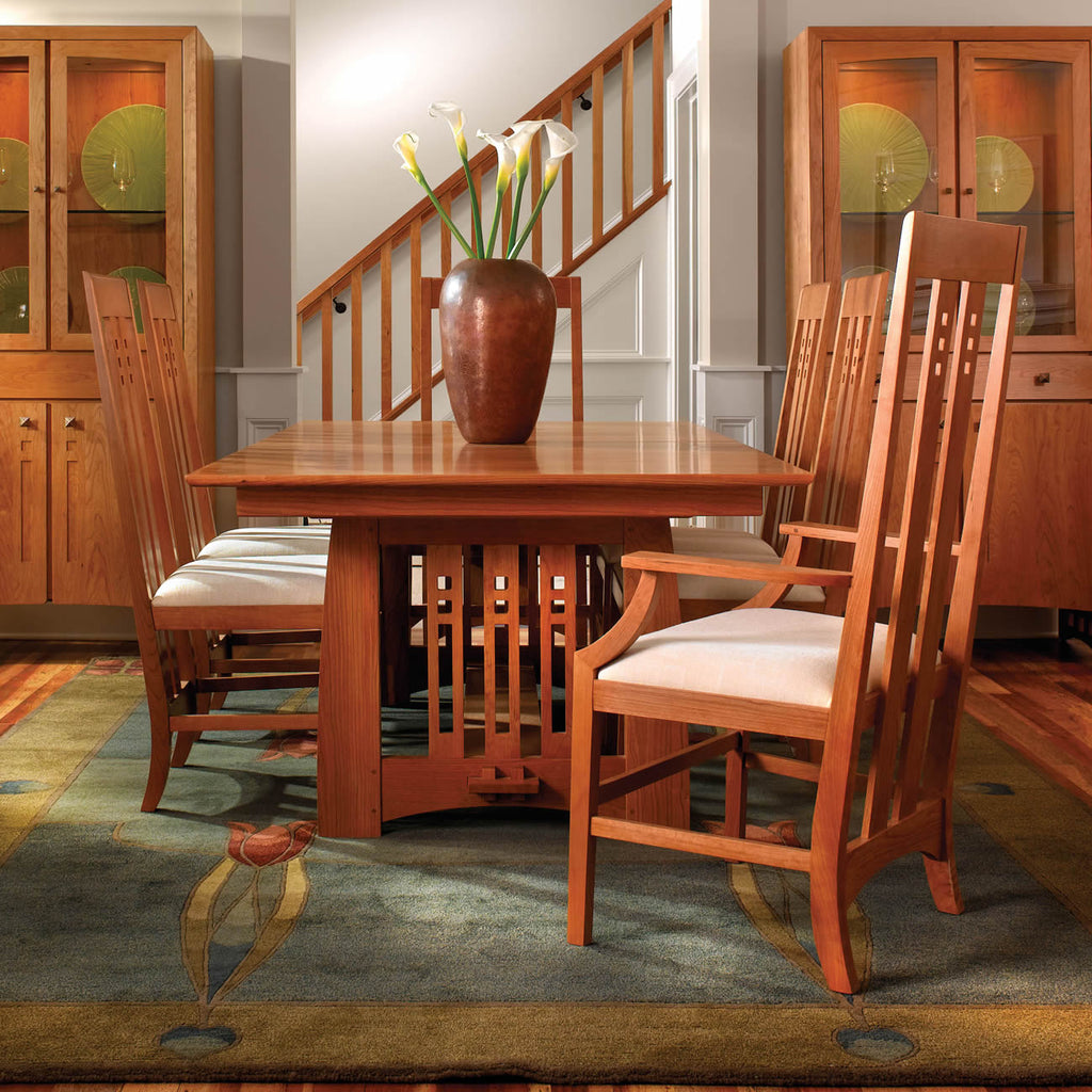 Stickley Highlands Trestle Table
