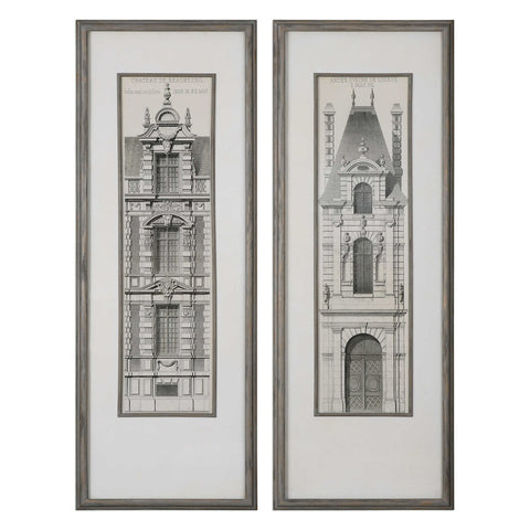 Uttermost Artwork Castle Doors (Set of 2)