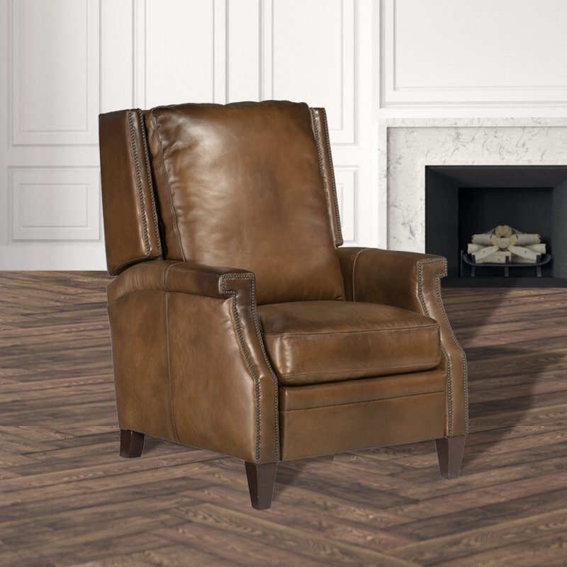 Madison Manor Collin Manual Push Back Recliner