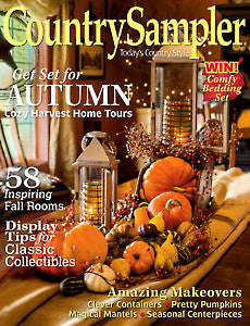 Country Sampler Magazine September 2016 Issue
