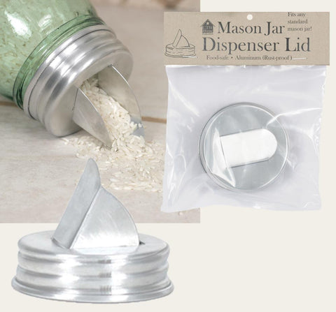 Lid - Mason Jar Dispenser