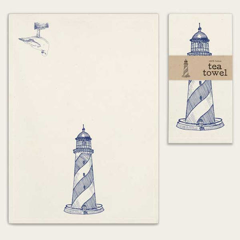 Tea Towel - Lighthouse