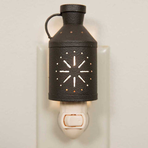 Milk Can Pinwheel Night Light