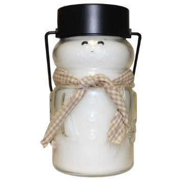 Baby Snowmen Lantern Candle 10 oz Assorted