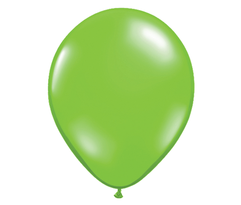"11"" Jewel Lime Latex Balloon - 6 Pack"