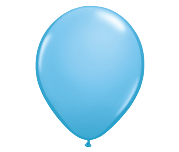 "11"" Light Blue Latex Balloon - 6 Pack"