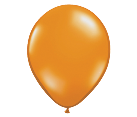 "11"" Jewel Mandarin Orange Latex Balloon - 6 Pack"