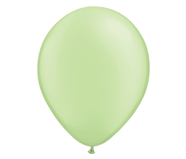 "11"" Neon Green Latex Balloon - 6 Pack"