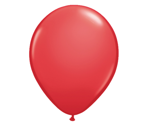 "11"" Red Latex Balloon - 6 Pack"