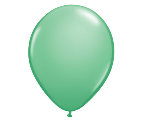 "11"" Wintergreen Latex Balloon - 6 Pack"
