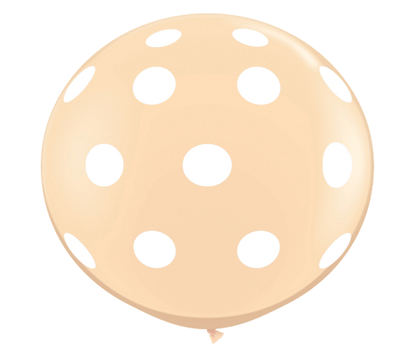 "36"" Blush Polka Dot Balloon"