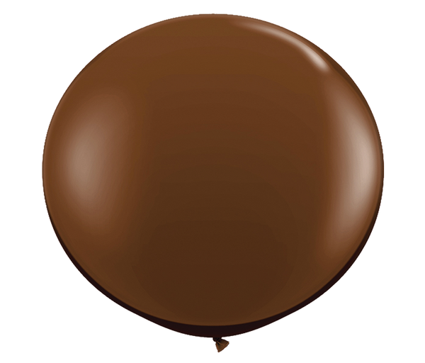 "36"" Chocolate Brown Latex Balloon"