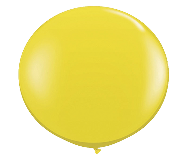 "36"" Citrine Yellow Latex Balloon"